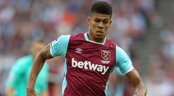 Ashley Fletcher started just two Premier League matches for West Ham