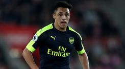 Alexis Sanchez has less than a year remaining on his Arsenal contract