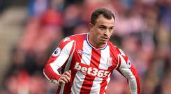 Xherdan Shaqiri, pictured, has been compared to Lionel Messi