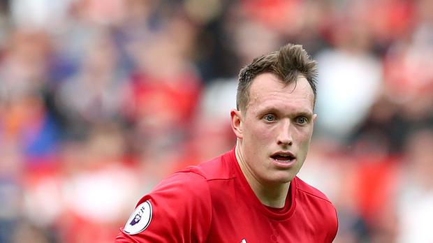 Manchester United's Phil Jones has been banned for two European matches