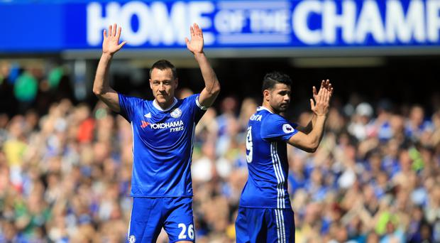 Chelsea and John Terry cleared of wrongdoing in final match celebration