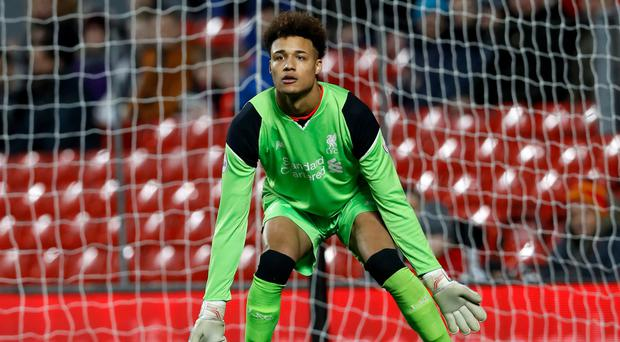 Liverpool youth team goalkeeper Shamal George has joined Carlisle on loan after signing a new contract with the Merseysiders