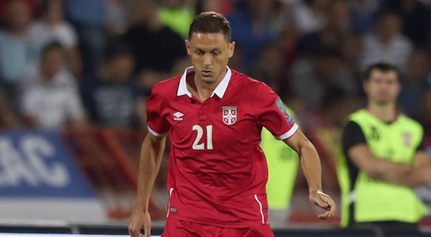 Nemanja Matic, pictured, has been reunited with Jose Mourinho as the Manchester United boss continues to add height to his side