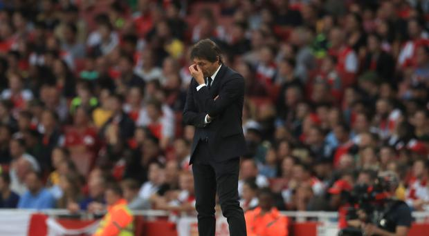 Antonio Conte's Chelsea embarked on a 13-game winning run after defeat at the Emirates Stadium