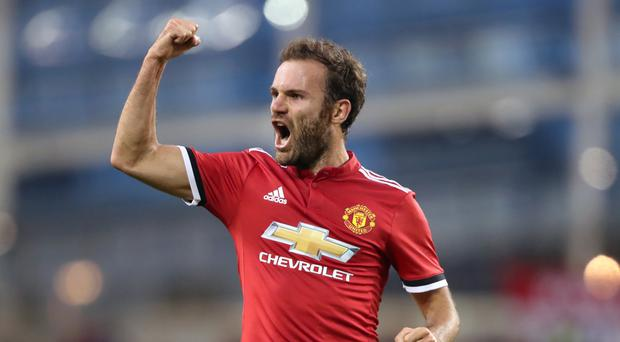 Juan Mata is donating one per cent of his earnings to football charities