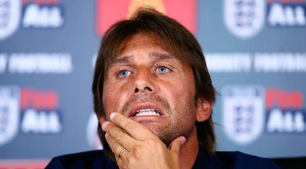 Chelsea manager Antonio Conte has bemoaned the size of the Premier League champions' squad as he prepares for the new season. Photo: Getty