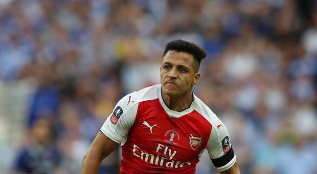 Alexis Sanchez has less than a year remaining on his Arsenal contract.