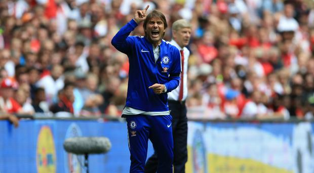 Antonio Conte watched his Chelsea side fluff their lines from the spot