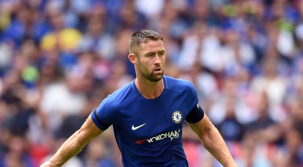 Chelsea captain Gary Cahill was the only man to score his penalty for the Blues against Arsenal