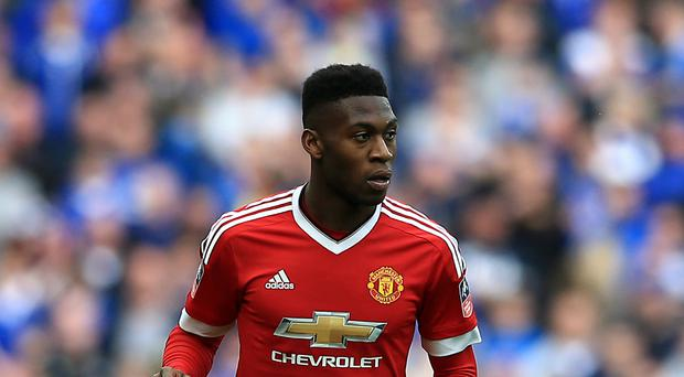 Manchester United's Timothy Fosu-Mensah is poised to join Crystal Palace on loan