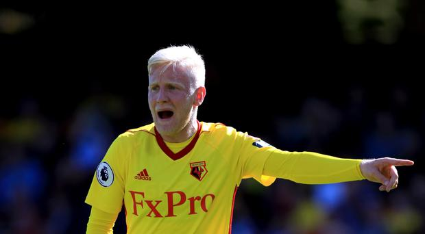 Will Hughes could make his competitive debut for Watford against Liverpool