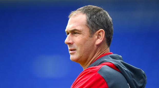 Swansea manager Paul Clement, pictured, has called for a 'compromise' over the Gylfi Sigurdsson transfer saga with Everton