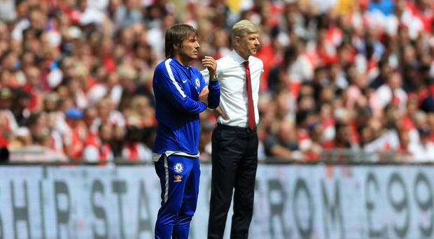Arsenal boss Arsene Wenger came up against Chelsea's tracksuit-wearing manager Antonio Conte in the Community Shield last weekend