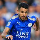 Roma are not prepared to increase their offer for Riyad Mahrez