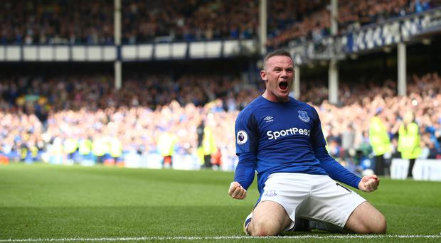 Wayne Rooney was the star of the show on his return to Everton