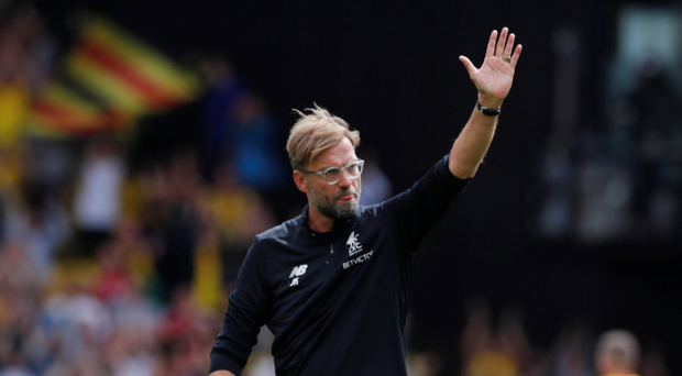 Frustrated: Juergen Klopp Photo: Retuers