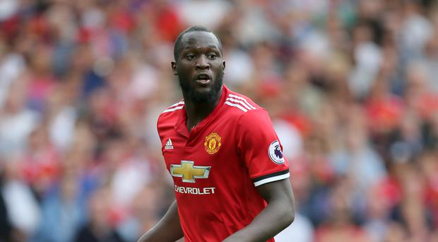 Romelu Lukaku scored twice on his Premier League debut for Manchester United in a 4-0 victory over West Ham