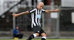 Newcastle midfielder Jonjo Shelvey is seeing a psychologist over his anger issues