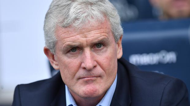 Stoke manager Mark Hughes, pictured, hopes to sign Jese Rodriguez