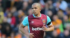 Sofiane Feghouli spent one season at West Ham