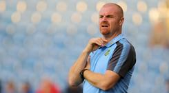 Sean Dyche's Burnley have brought in nearly £50million in sales