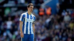 Brighton's Lewis Dunk has impressed his manager.
