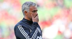Manchester United manager Jose Mourinho would welcome a changed transfer window