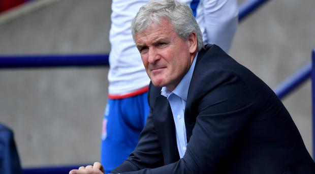 Mark Hughes, pictured, believes Jese Rodrigue can make a big impact in the Premier League