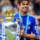 Diego Costa has won two Premier League titles with Chelsea