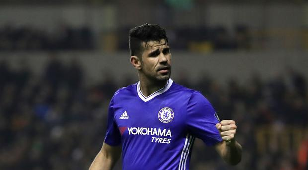 Diego Costa is in dispute with Chelsea over his future and wishes to return to Atletico Madrid