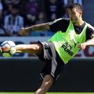 Newcastle manager Rafael Benitez hopes he can get the best out of Joselu, pictured