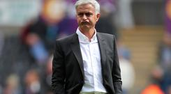 Manchester United manager Jose Mourinho says his side are high on confidence after beating Swansea 4-0