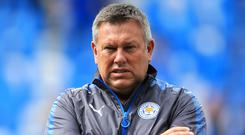 Craig Shakespeare saw his Leicester side beat Brighton