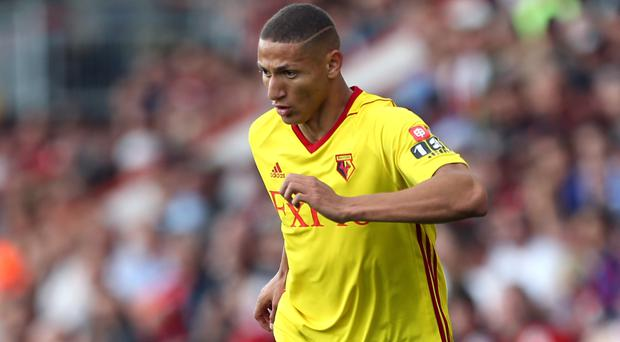 Richarlison, pictured, earned the praise of his boss Marco Silva
