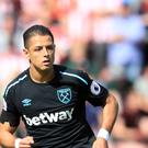 Javier Hernandez is already amongst the goals for West Ham