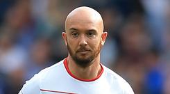 Stoke midfielder Stephen Ireland