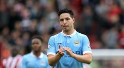 Manchester City midfielder Samir Nasri has joined Turkish club Antalyaspor on a two-year deal