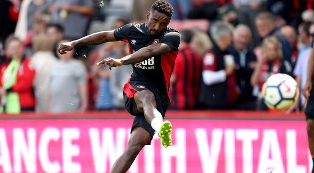 Bournemouth forward Jermain Defoe looks set for his first start in the Carabao Cup tie at Birmingham