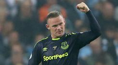 Wayne Rooney reached a significant milestone against Manchester City