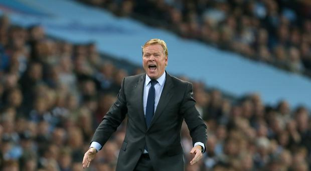 Everton manager Ronald Koeman had mixed feelings after the draw against Manchester City