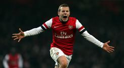 Arsenal midfielder Jack Wilshere says his