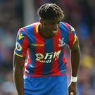 Wilfried Zaha signed a new five-year contract in May