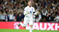 Wayne Rooney has called time on his international career