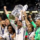 Real Madrid are the holders of the Champions League