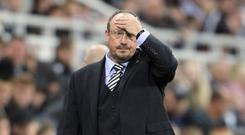 Rafael Benitez saw Newcastle slip to Carabao Cup defeat by Nottingham Forest