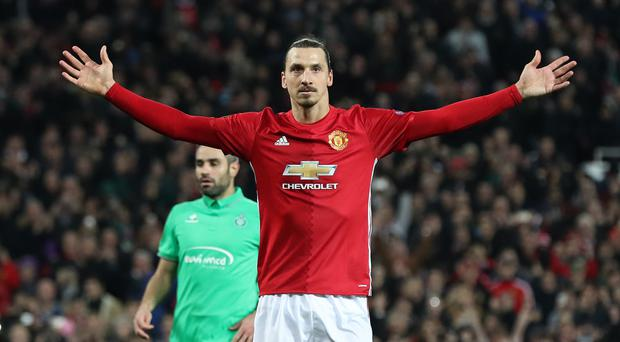 Zlatan Ibrahimovic is back at Manchester United