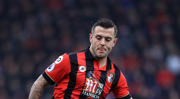 Arsenal midfielder Jack Wilshere spent last season on loan at Bournemouth