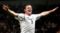 England's Wayne Rooney announced his international retirement on Wednesday