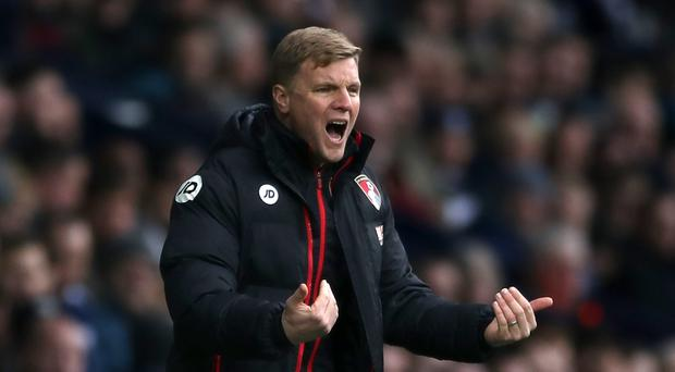 Eddie Howe's Bournemouth are in their third season in the Premier League