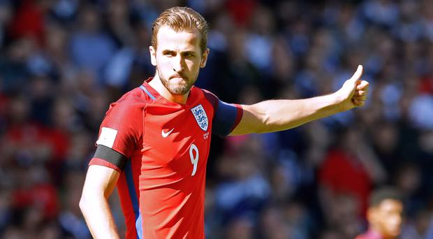 Tottenham striker Harry Kane has experience captaining England in recent matches